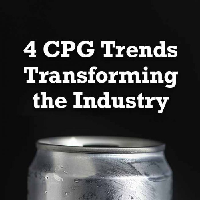 4 CPG Trends Transforming the Industry