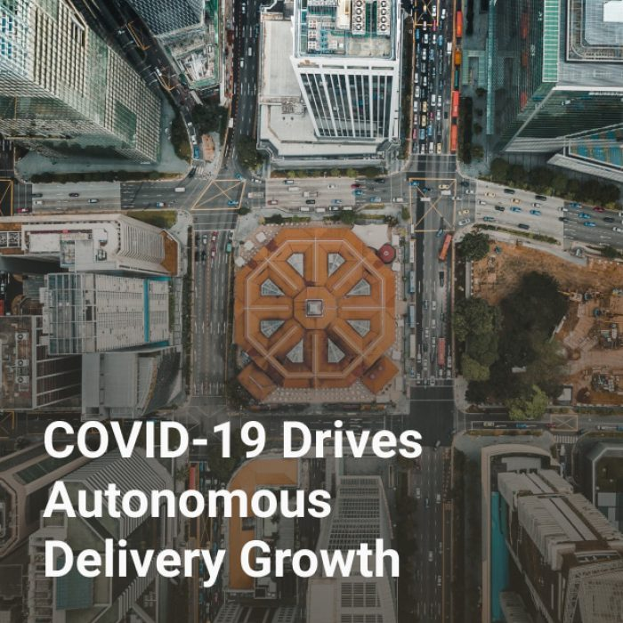 COVID-19 Drives Autonomous Delivery Growth