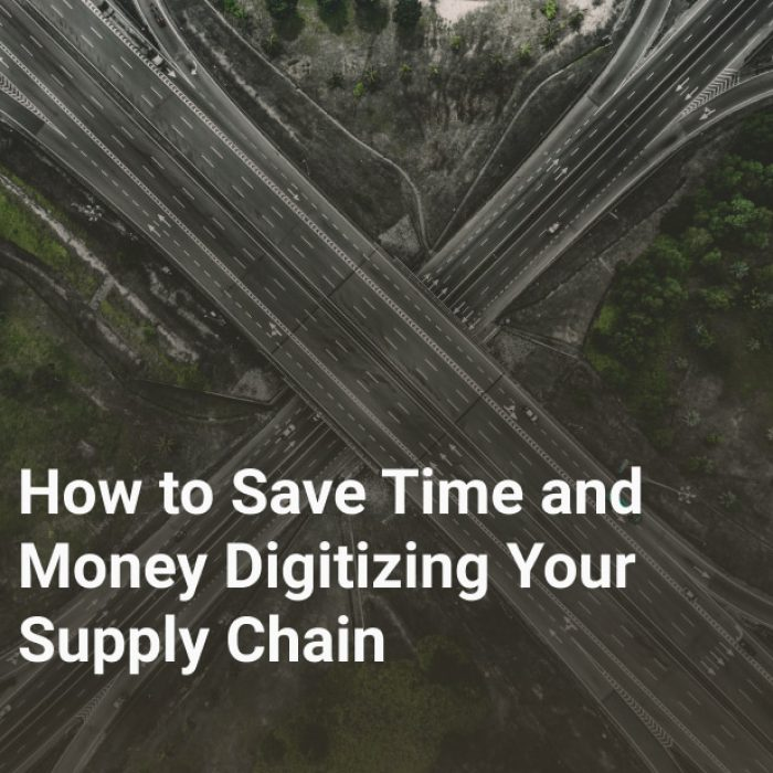 How to Save Time and Money Digitizing Your Supply Chain