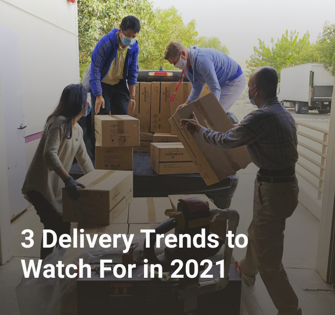 3 Delivery Trends to Watch For in 2021