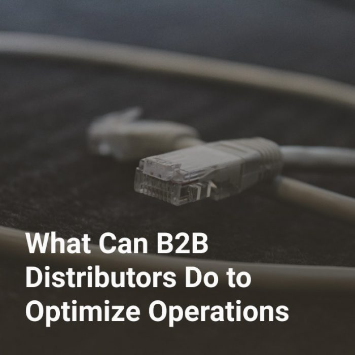 What Can B2B Distributors Do to Optimize Operations