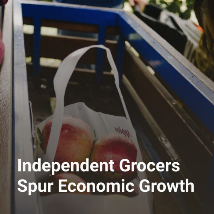 Independent Grocers Spur Economic Growth